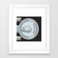 Enterprise - Star Trek Framed Art Print