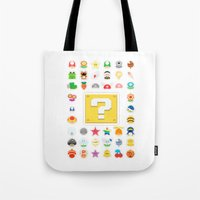Power Ups! Tote Bag