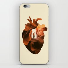 Heart Explorer iPhone & iPod Skin