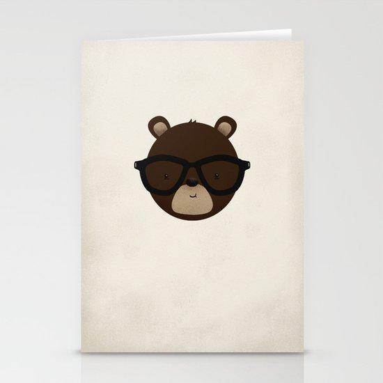 Bear Stationery Card