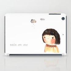 Rain on me iPad Case