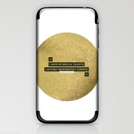 Passionately Curious iPhone & iPod Skin