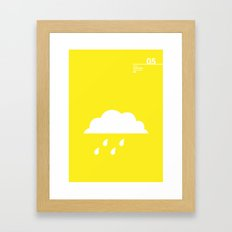 05_Webdings_DB Framed Art Print