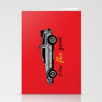 Zero Flux Given. Stationery Cards