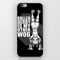 Roller Derby is My Other Wod Crossfit iPhone & iPod Skin