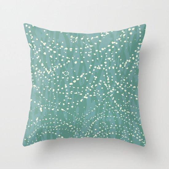 Ebb & Flow: Drops Throw Pillow
