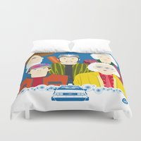 2015 (Faces & Movies) Duvet Cover