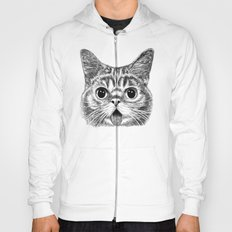 Tongue Out Cat Hoody