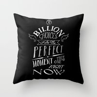 Perfect Moment Throw Pillow