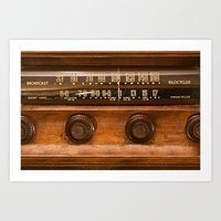 Tune In Art Print