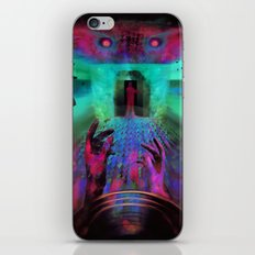When the music's over iPhone & iPod Skin
