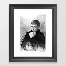Barnabas Collins DARK SHADOWS Framed Art Print