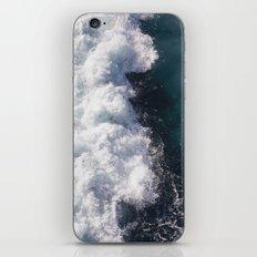 sea - midnight blue wave iPhone & iPod Skin