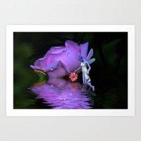 A  Fairys World Art Print