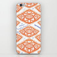 ORANGE LOVE iPhone & iPod Skin