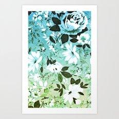 Vintage Flowers XL - for iphone Art Print