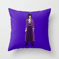 Prince - Purple Rain - Violet Throw Pillow