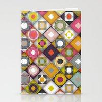 parava diagonal Stationery Cards