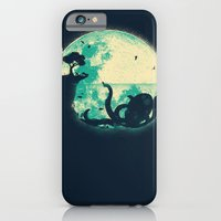 moon iPhone & iPod Cases featuring The Big One by Jay Fleck