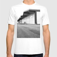 South Tacoma architecture Mens Fitted Tee White SMALL