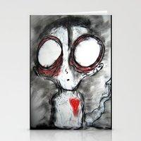 Bug Eyed Oddity Stationery Cards