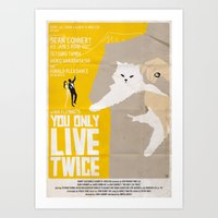 You Only Live Twice Art Print