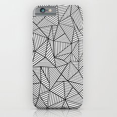 Abstraction Lines #2 Black and White Slim Case iPhone 6s