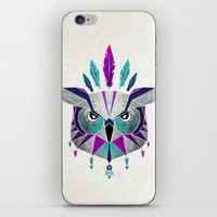 owl king iPhone & iPod Skin