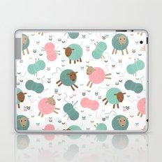 Knitting sheep Laptop & iPad Skin