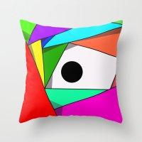 The Eyeball Throw Pillow