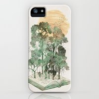 iPhone Cases featuring Jungle Book by David Fleck