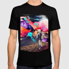 DREAMSCAPE Mens Fitted Tee Black SMALL
