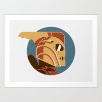 Headgear: Rocketeer Art Print