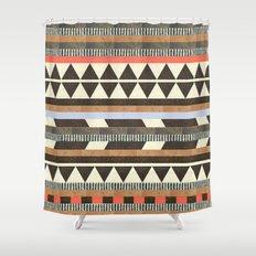 DG Aztec No.1 Shower Curtain