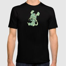 Zombie Mouse Black SMALL Mens Fitted Tee
