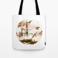 Telescope 5 tall ship Tote Bag