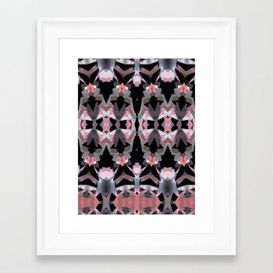 Tribal jungle Framed Art Print