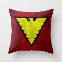 X-Men: Dark Phoenix - I am fire and life incarnate Throw Pillow