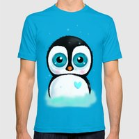 Joc The Penguin Mens Fitted Tee Teal SMALL