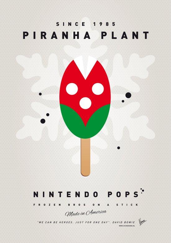 My NINTENDO ICE POP - Piranha Plant Art Print