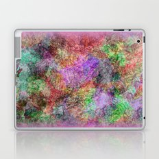 Colorful Abstract Water Color Misty Swirls Design Laptop & iPad Skin
