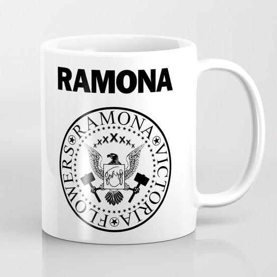 Ramona - White Mug
