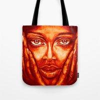 look at me /red/ Tote Bag