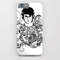 harry potter iPhone & iPod Cases featuring Harry Potter by Ink Tales