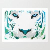 Eye Of The Tiger Art Print