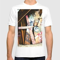 Best Day Ever Mens Fitted Tee White SMALL