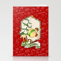 Fairy Merry Christmas Stationery Cards