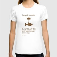 quote T-shirts featuring Einstein by Tracie Andrews