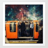 Mind The Galaxy | London… Art Print