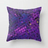 Blue Lilac Decorative Sq… Throw Pillow